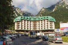 Hotel Silva, Busteni Stock Photography