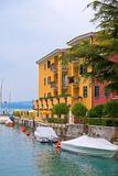 Hotel in Sirmione, Italy Royalty Free Stock Photos