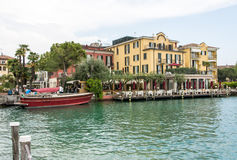Hotel Sirmione Stock Image