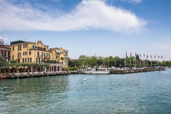 Hotel Sirmione Stock Images