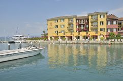 Hotel in Sirmione Royalty Free Stock Images