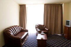 Hotel sitting room Royalty Free Stock Photos