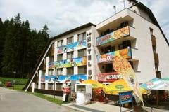 Hotel Ski in Jasna. Stock Images
