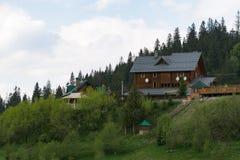 Hotel in Slavsk Immagini Stock