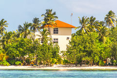 A Hotel on Small Island Royalty Free Stock Image