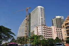 Hotel sob a construção imagem de stock royalty free