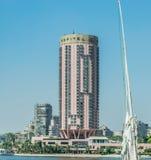 Hotel Sofitel Kairo Nile El Gezirah stockbild