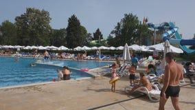 Hotel Sol Nessebar stock videobeelden