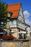 Hotel in Southern Germany. Historical Hotel in southern germany. structure is centuries old and half timbered Royalty Free Stock Photography
