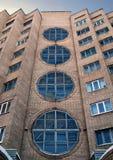 Hotel soviético viejo Fotografía de archivo