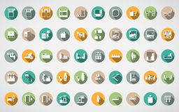 Hotel spot icon Stock Photos