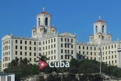 Hotel-Staatsangehöriger in Havana, Kuba stockbild