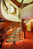 Hotel stairs in modern style Stock Photo