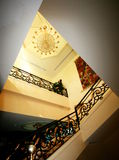 Hotel stairs view Royalty Free Stock Image