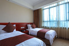 Hotel standard room Stock Photo