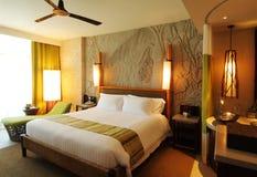 Hotel-stanza piacevole Immagine Stock