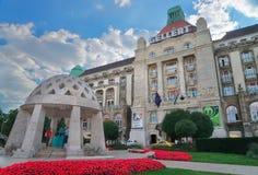 Hotel storico di Gellert a Budapest Ungheria fotografia stock libera da diritti