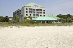 Hotel su Hilton Head Island immagine stock