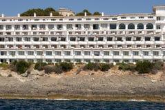 Hotel su Majorca Fotografia Stock Libera da Diritti