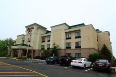 Hotel suburbano moderno Fotografia de Stock Royalty Free
