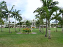 Hotel sugar beach Mauritius Royalty Free Stock Image