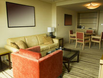 Hotel suite interior Royalty Free Stock Photography