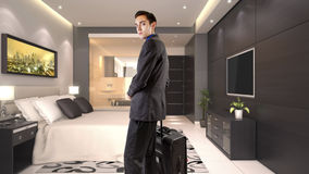 Hotel Suite Royalty Free Stock Photo
