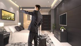 Hotel Suite Stock Photography