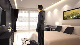 Hotel Suite Royalty Free Stock Image