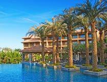 Hotel swimming pool Stock Image