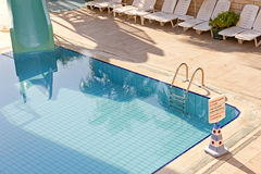 Hotel swimming pool Royalty Free Stock Image