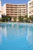 Hotel Swimming Pool. With lots of copyspace Royalty Free Stock Photo