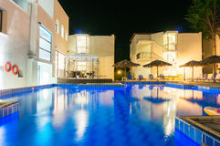 Hotel swimming pool Royalty Free Stock Photography