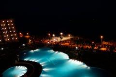 Hotel swimming pool Stock Photos