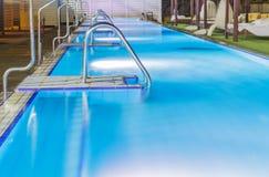 Hotel swimming pool . Stock Photo