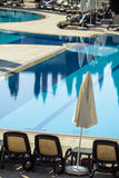 Hotel Swimming Pool Royalty Free Stock Image