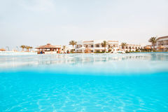 Hotel swimmung pool Stock Photography