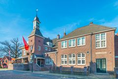 Hotel `t Lansink in Tuindorp, Hengelo. Historical Place in Hengelo - Michelin star restaurant stock photos