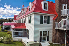 Hotel in Tadoussac, Quebec Stock Image