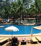 Hotel in Tailandia Fotografie Stock Libere da Diritti