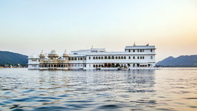 Hotel Taj Lake Palace em Udaipur Foto de Stock Royalty Free