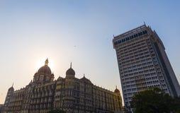 Hotel taj in Mumbai stockbilder
