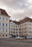 Hotel Taschenbergpalais in olf part of Dresden Stock Photography