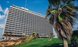Hotel in Tel Aviv Royalty Free Stock Photos