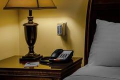Hotel-Telefon-Alarm stockfotos
