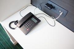 Hotel telephone Stock Images