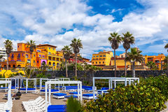 Hotel in Tenerife island - Canary Royalty Free Stock Photo