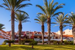 Hotel in Tenerife island - Canary stock photography