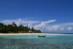 Hotel & TERMAS da RETIRADA de Maldivas W foto de stock royalty free