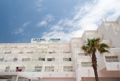 Hotel territory Stock Photography